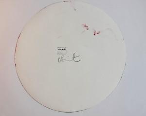 Damien Hirst Circle Spin Painting