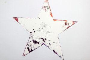 Damien Hirst Star Spin Painting 05
