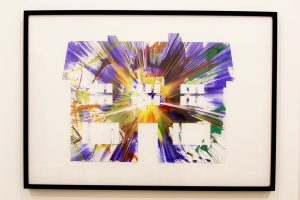 Damien Hirst House Spin Painting